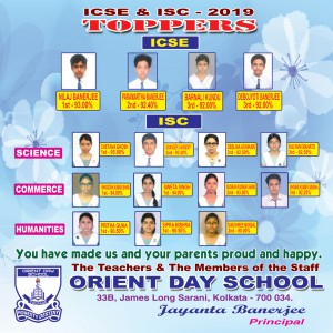 ICSE & ISC 2019 TOPPERS